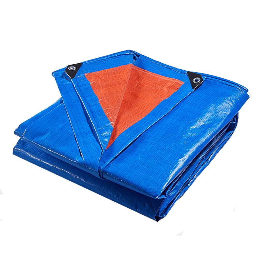 4×5m LYXPUZI BÂche Anti-Pluie rembourrée Tissu Anti-Pluie Tissu Pare-Soleil Tissu Pare-Soleil Tissu Plastique Tissu Anti-Pluie