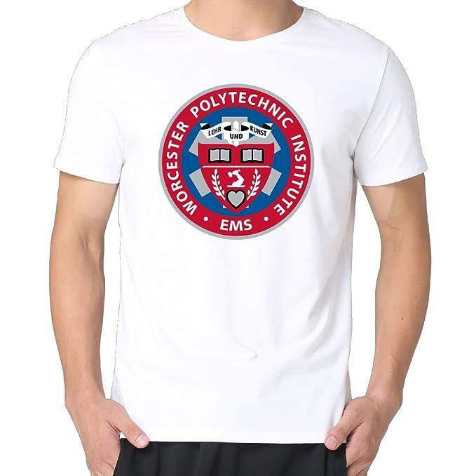 1646e7c95f Worcester Polytechnic Institute Logo Hombres Camisas  Amazon.es  Ropa y  accesorios