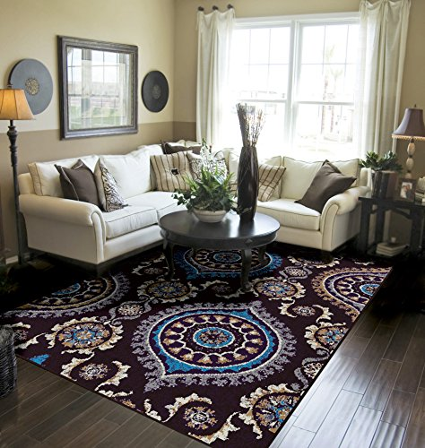 Amazon Com Modern Area Rugs 5x7 Clearance Rugs Under 50