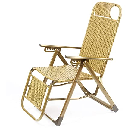 Amazon Com Folding Lounge Chair Leisure Office Nap Chair