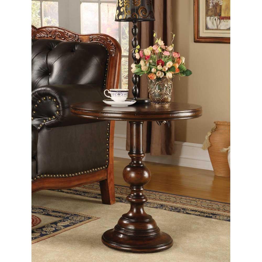 "Amazon Hooker Furniture Seven Seas 24"" Round Pedestal Accent"