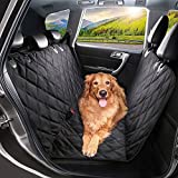 Dog Car Seat Cover - Waterproof heavy duty slip proof travel hummock & anchors - seat protector, machine washable, scratch proof, universal fits all vehicles. 3 Year Warranty Guarantee