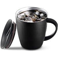 Taza de café de acero inoxidable, taza