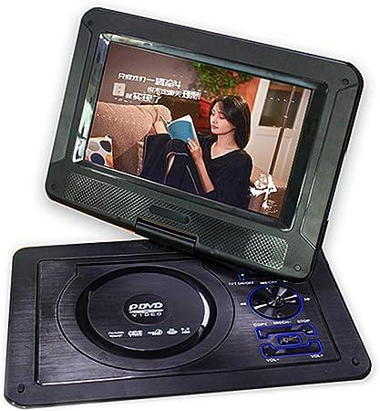 WWK EVD DVD Portátil De DVD, 9.8 Pulgadas con TV/FM/USB/Función De Juego De Inicio De Reproducción De Vídeo Adecuado para El Hogar Entretenimiento Y Aprendizaje,UK: Amazon.es: Hogar