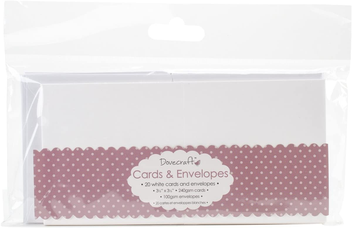 Card Blanks and Envelopes from £3.99 for 25 Blank Craft Cards for Card Making