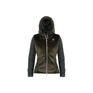 45ba2f15628e K-way - Blouson - Femme - Vert - 6  Amazon.fr  Vêtements et accessoires