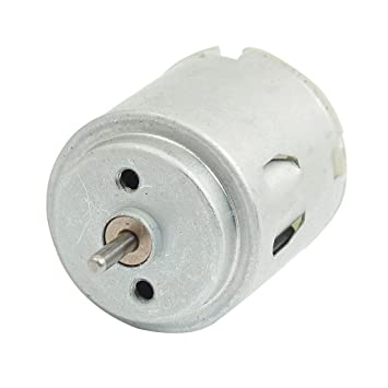 sourcingmap® motor eléctrico DC 6V 0.16A 2mm de 24 mm de diámetro ...