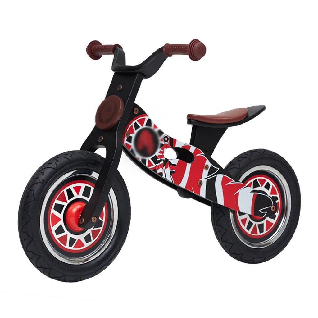 納得できる割引 スライディングカーウォーカー子供スクーター木製ベビー無ペダル自転車キッズおもちゃダブルホイール2-6歳 B07FZ83MJW B07FZ83MJW Red, ハボロチョウ:f53d91c6 --- a0267596.xsph.ru