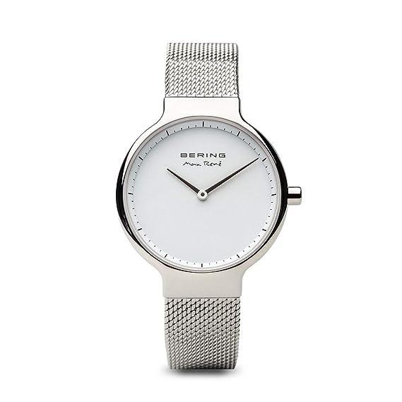 BERING Reloj Analógico para Mujer de Cuarzo con Correa en Acero Inoxidable 15531-004