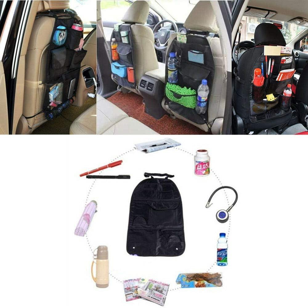 Car Seat Back Organizer Pocket Holder Storage Bag Travel Multi Hanger Rear Tool