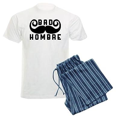 Amazon.com: CafePress Bad Hombre - Unisex Novelty Cotton Pajama Set, Comfortable PJ Sleepwear: Clothing