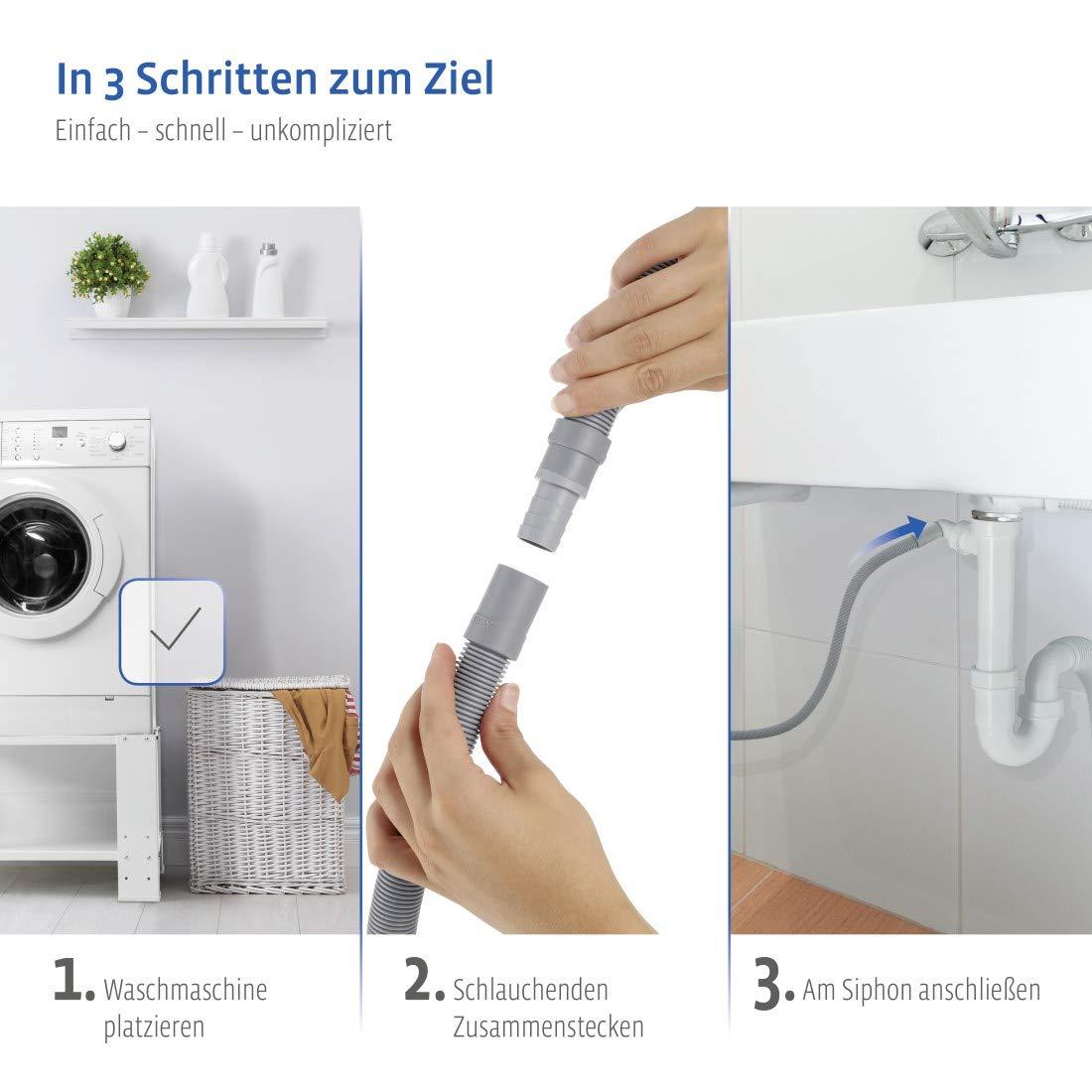 stpatinetes.es Abwasserschlauch Verlngerung 1,5 m ...
