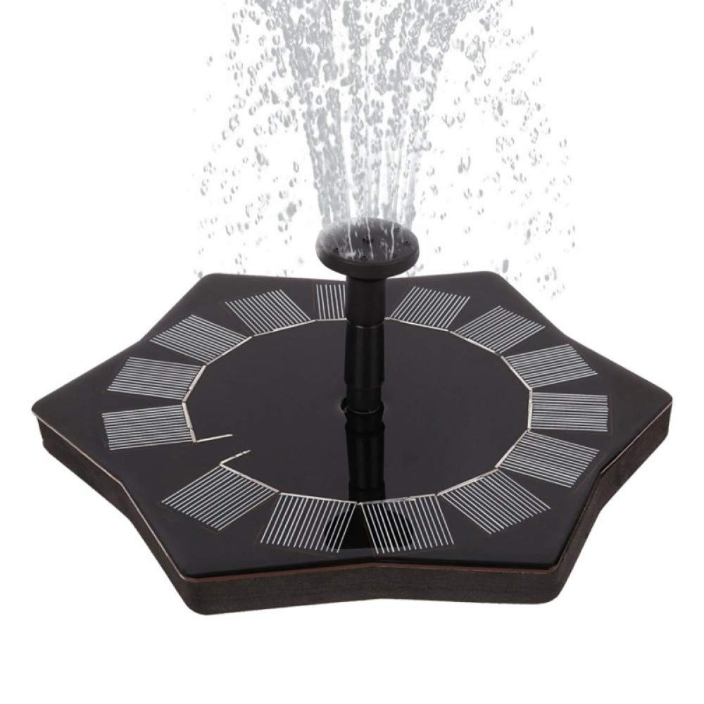 HUANGYABO 1.4W Solar Fountain Water Pump Garden Solar Water Pump Solar Powered Solar