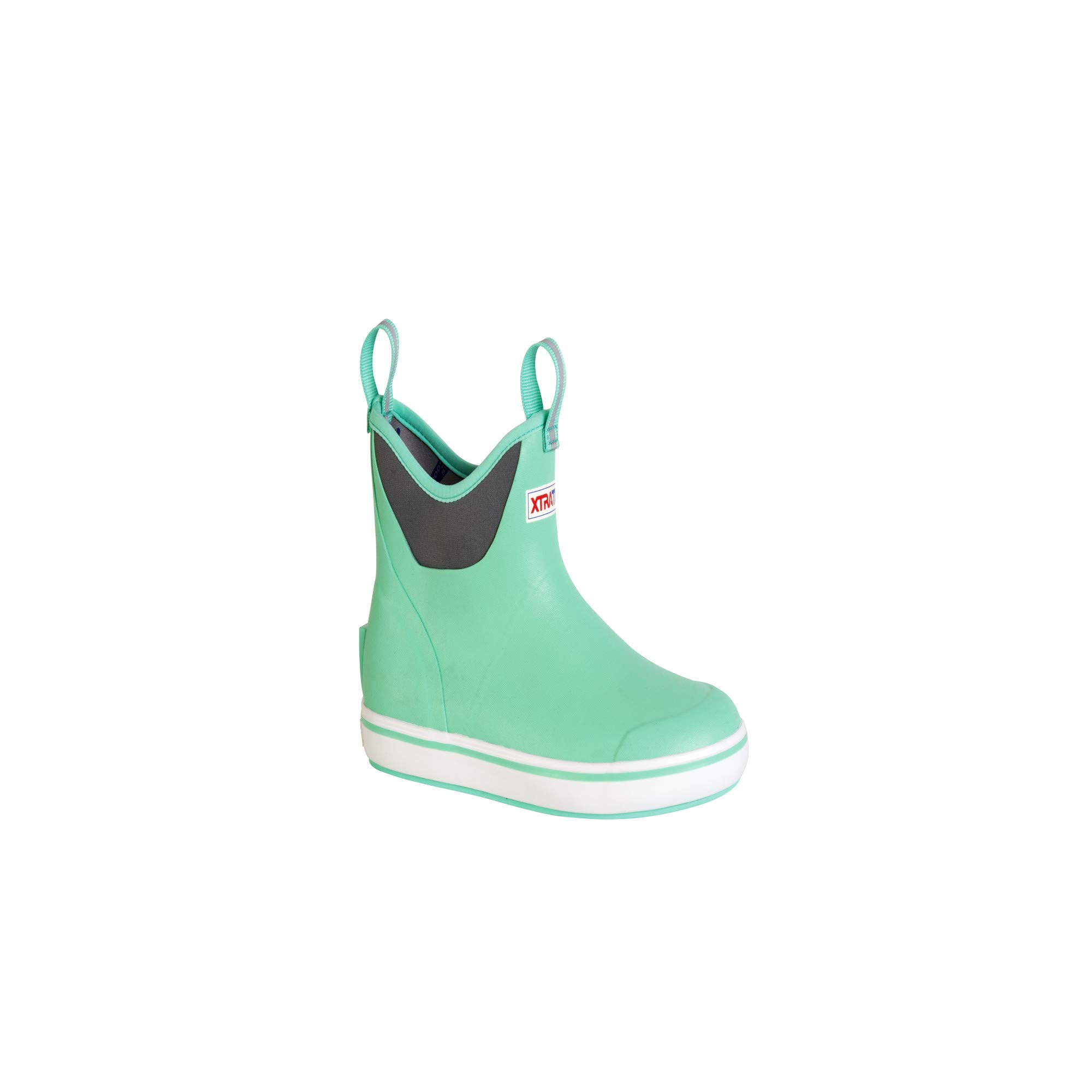 XTRATUF Performance Series 6'' Women's Full Rubber Ankle Deck Boots, Seafoam (XWAB-300), 9 by Xtratuf