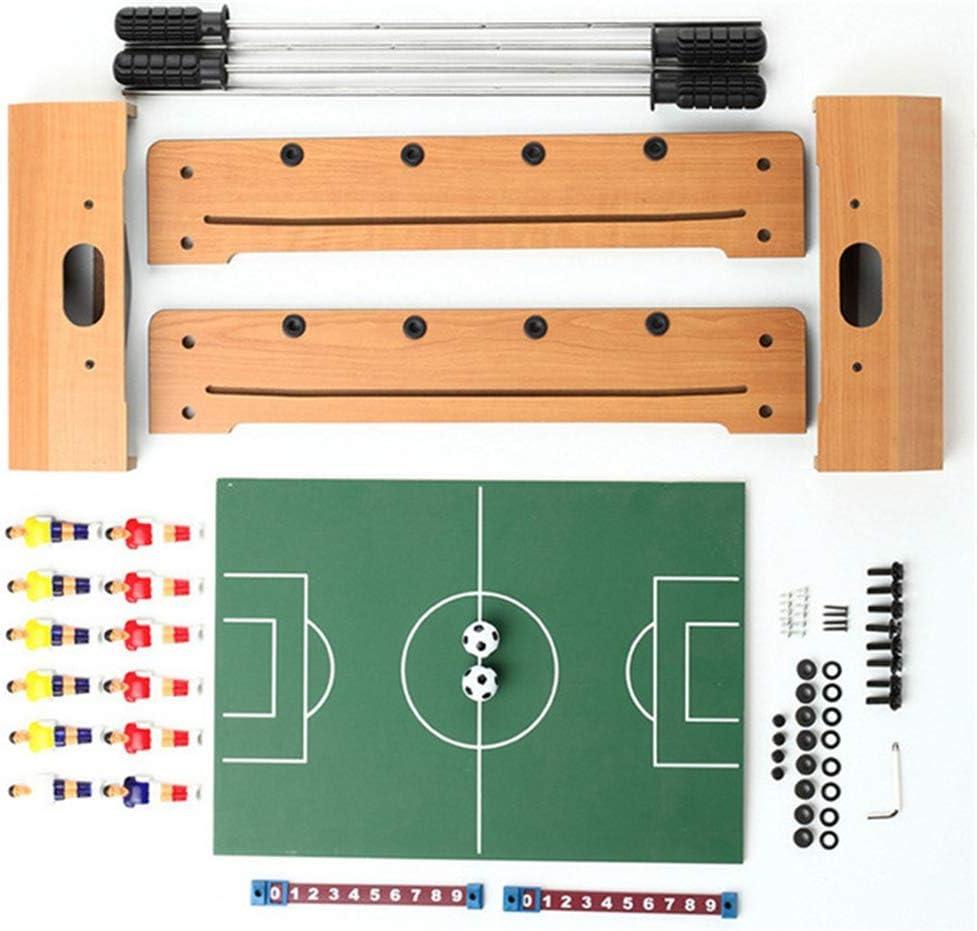 Lcyy-game Mesa futbolín, Mini Deportes Arcade de fútbol para Sala de Juegos, Accesorios incluidos: Amazon.es: Hogar