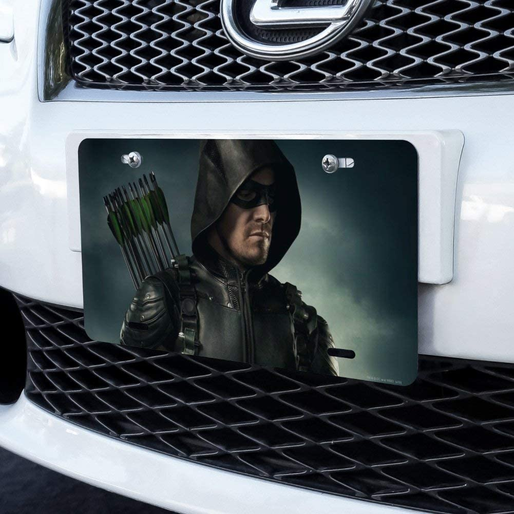 Graphics and More Arrow TV Series Character Art Novelty Metal Vanity Tag License Plate
