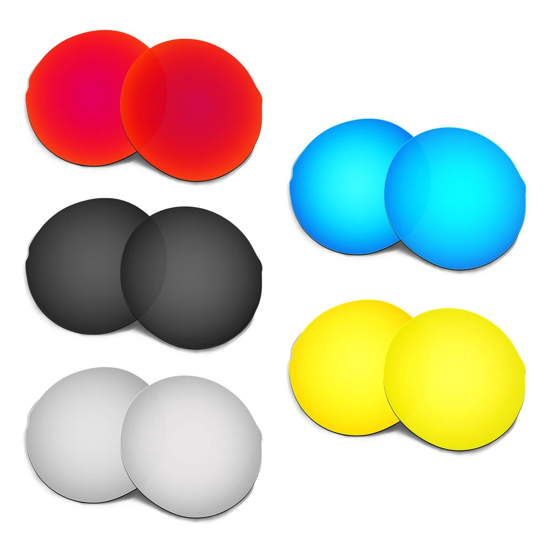 Hkuco 交換用レンズ Oakley Madman Sunglasses  レッド/ブルー/ブラック/ゴールデン/チタンカラー B01N1V8QOS