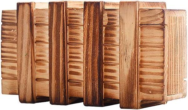 Caja de madera 1PC La Caja Mágica Puzzle Rompecabezas Magic Box ...