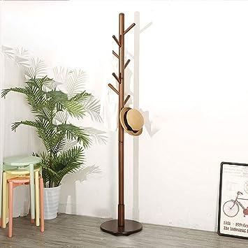 Perchero de madera piso percha dormitorio Creative Foyer ...
