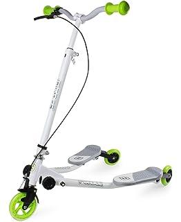 Fliker Bipatinete– Monopatín de 3 ruedas – Skateboard ...