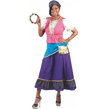 Traje gitano, tamaño 48/50, Carnaval reina gitana disfrazar ...