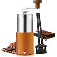 Manual Coffee Grinder Set Stainless Steel Easy to Clean and Portable for Home Travel Outdoor