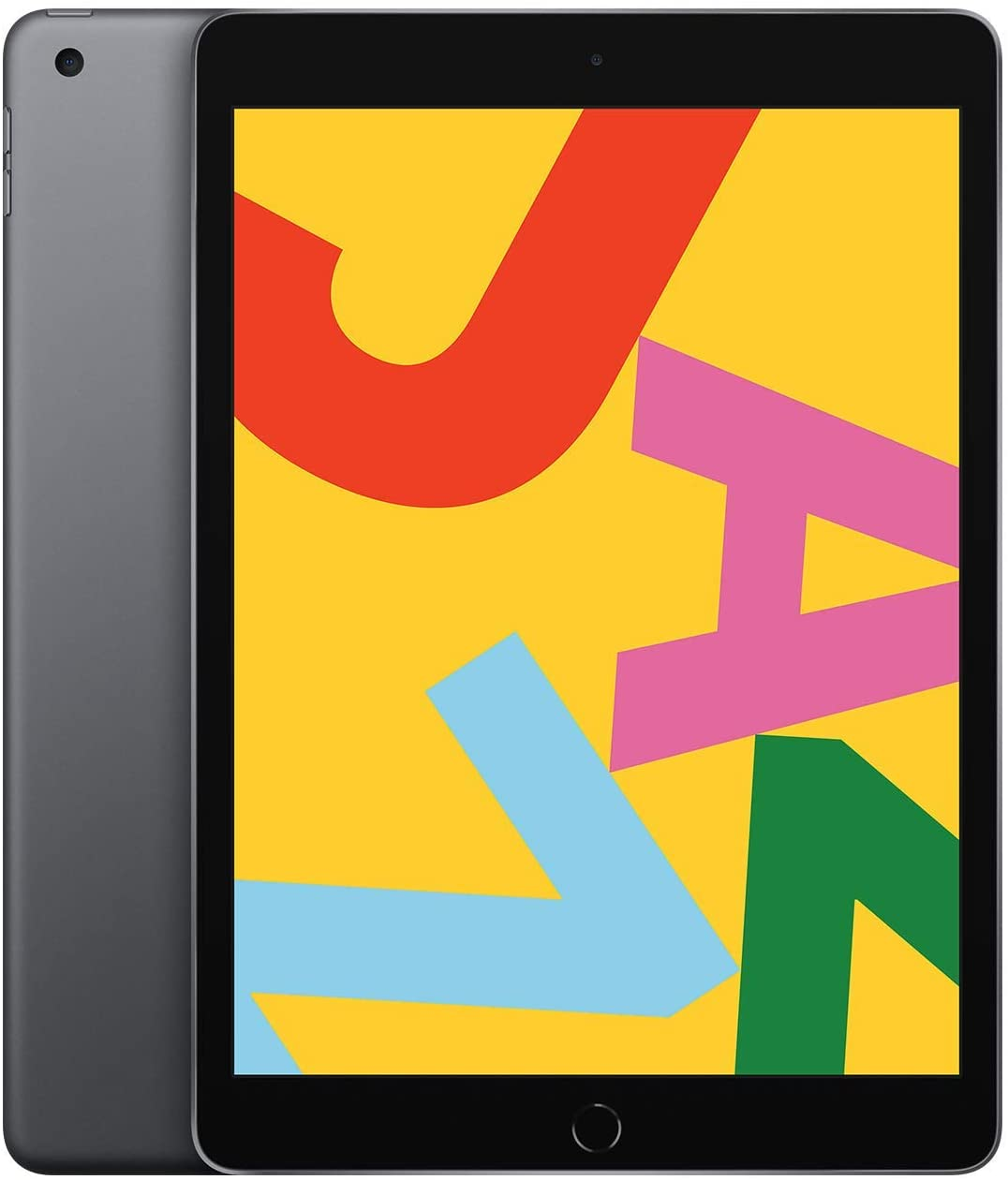 Apple iPad (10.2-Inch, Wi-Fi, 128GB) - Space Gray (Latest Model) (Renewed)