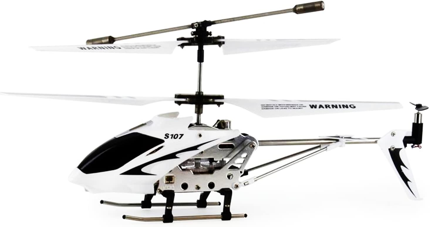 Green Color Syma 3 Channel S107//S107G Mini Indoor Co-Axial R//C Helicopter w// Gyro