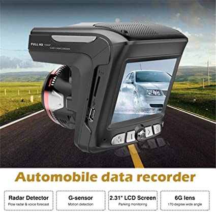 Futureshine 2 in 1 1080P Car DVR Camera Radar Laser Speedometer Camera