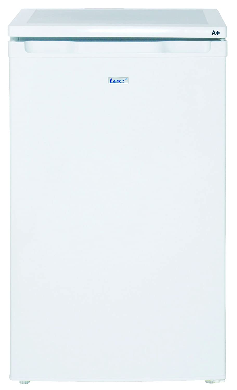 Lec R5010W 50cm undercounter fridge, A+ energy rated, 86ltr capacity, white [Energy Class A+] LECR5010W
