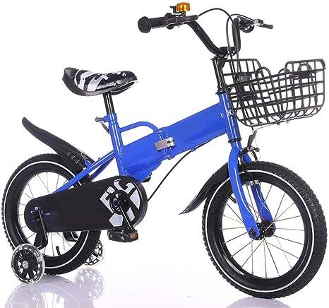 Nologo Bicicleta Niños Bicicleta Plegable Bicicleta niños, 2-13 ...