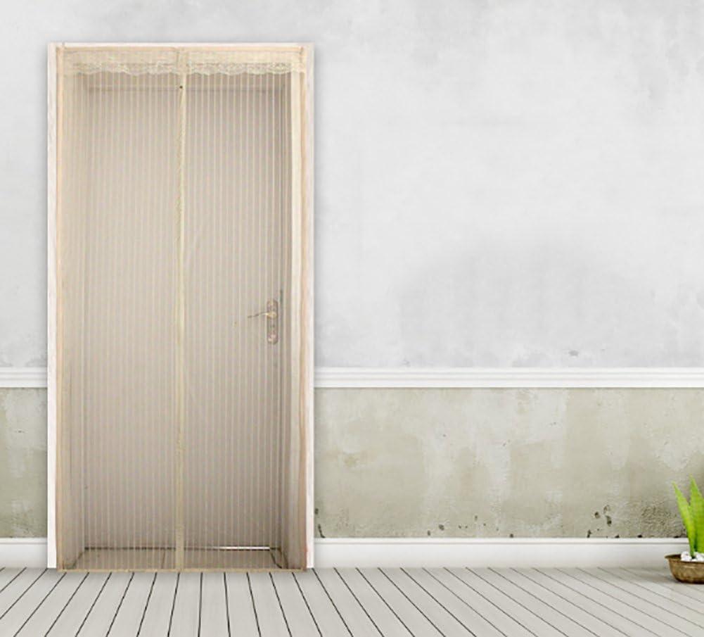 JLPCp Pantalla magnética de la Puerta con Cortina de Malla Resistente para Puertas,Puertas correderas-A 110x210cm(43x83inch): Amazon.es: Hogar