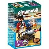 Playmobil - Piratas Soldado Con Cañón (5141)