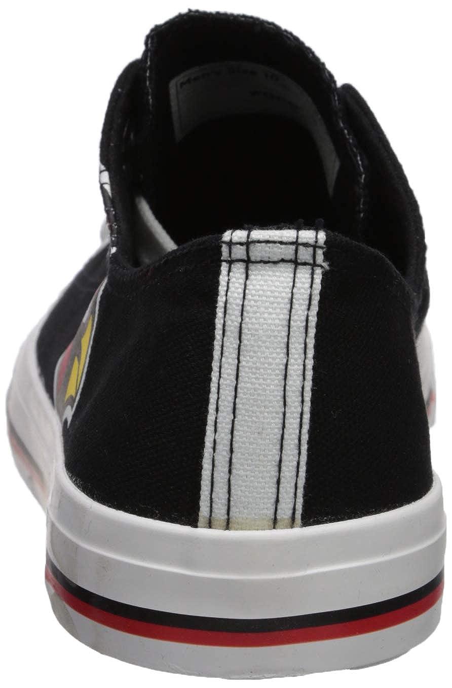 3a2ad11d FOCO NFL Mens Low Top Big Logo Canvas Shoes