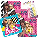 Amazon Com Barbie Birthday Party Invitations 8 Pack By Hallmark