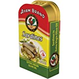 Ayam Brand Sardines in Extra Virgin Olive Oil, 120g