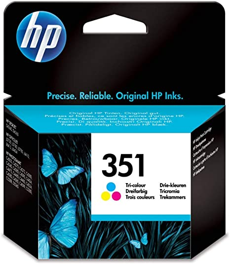 Hp 351 Farbe Original Druckerpatrone Für Hp Deskjet Hp Elektronik
