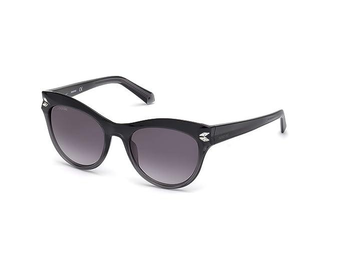 Gafas de Sol Swarovski SK0171 GREY SHADED/GREY SHADED mujer ...