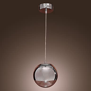 LightInTheBox 60W Pendant Light in Globe Metal Shape Ceiling Light Fixture for Kitchen, Dining Room
