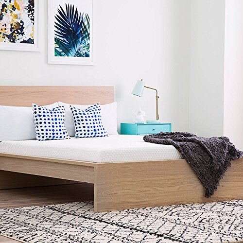 Linenspa 5 Inch Gel Memory Foam Mattress    Firm Support   Twin