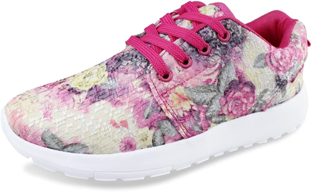 Hawkwell Women s 3D Printed Graphics Fashion Sneaker