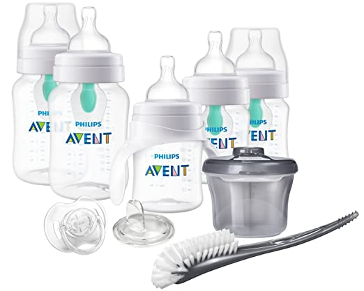 Philips Avent Anti-Colic Bottle With AirFree Vent BPA Free Baby Bottle Starter Gift Set