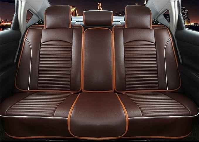 Amazon.es: Balscw Totalmente rodeado de cojines de asiento de automóvil, cuatro estaciones universal, asiento de coche de cinco asientos de cuero de alta ...