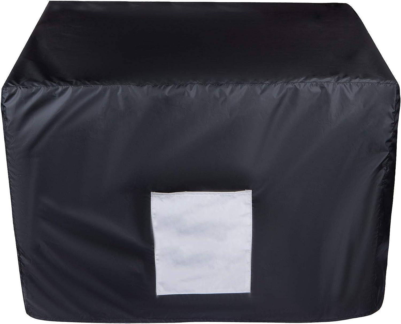 32 x 24 x 24inch Black Softclub Waterproof Generator Cover for Universal 3000-8000 Watt for Most Portable Generator