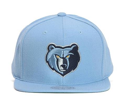 Amazon.com   Mitchell   Ness Memphis Grizzlies Team Logo Snapback ... 41ca2822ea3