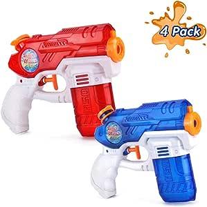 Rclhh Pistolas de Agua Soaker Guns para Niños Años,Juguetes de ...
