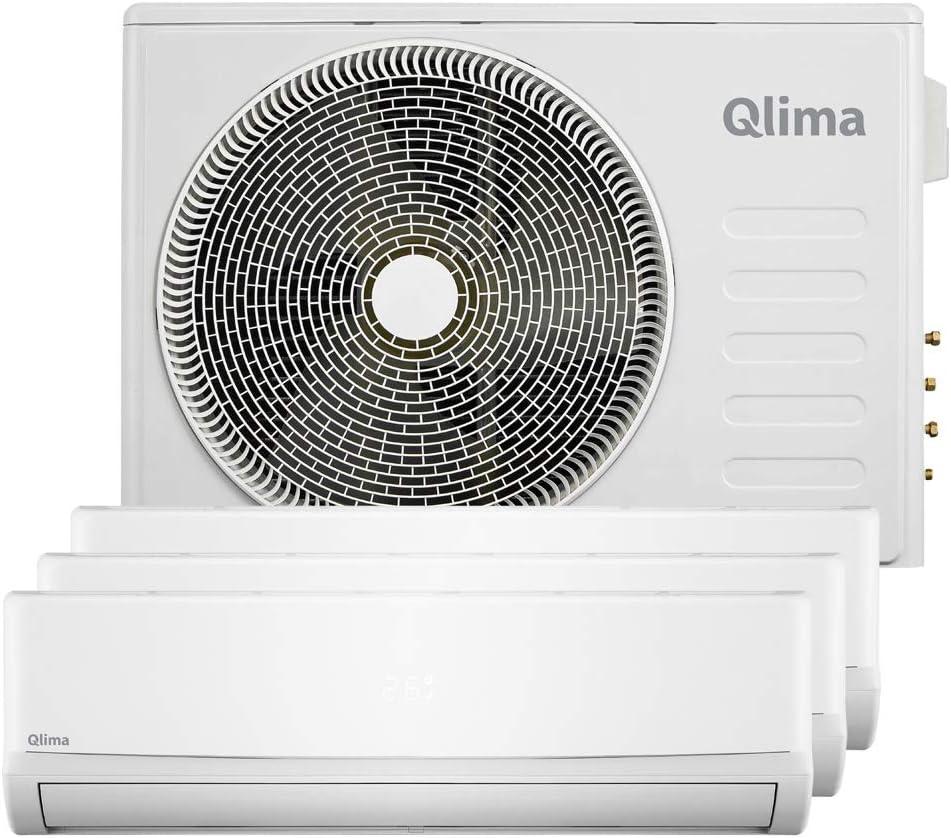 Qlima - Climatizador fijo inverter 3 unidades con deshumidificador ...