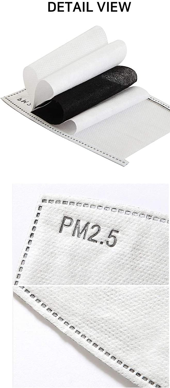 PM2.5 Activated Carbon Filter 48pcs 5 Layers Replaceable