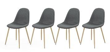 Lifestyle4living Stuhl, Esszimmerstühle, Set, Stühle, Schalenstuhl,  Sitzgelegenheiten, Esszimmer, Essbereich