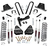 Rough Country - 479.20 - 4.5-inch Suspension Lift Kit w/ Premium N3 Shocks for Ford: 05-07 F250 Super Duty 4WD, 05-07 F350 Super Duty 4WD